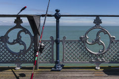 Swanage Pier Lizenzfreies Stockbild