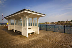 Swanage Pier and Bay in Summer Royalty Free Stock Photos