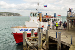 SWANAGE PIER Royalty Free Stock Photos