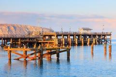 Swanage Pier Dorset Stockbild
