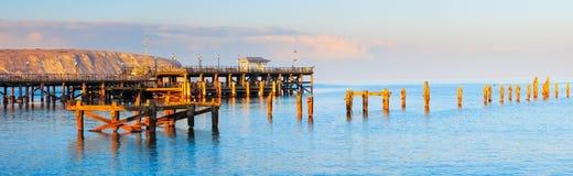 Swanage Pier Dorset Foto de archivo libre de regalías