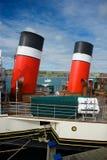 Swanage Pier Dorset het UK Royalty-vrije Stock Afbeeldingen