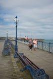 Swanage Pier Dorset Regno Unito Immagini Stock Libere da Diritti