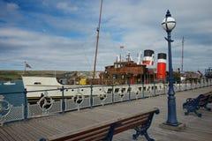 Swanage Pier Dorset Regno Unito Immagini Stock