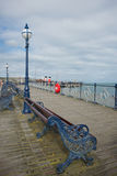Swanage Pier Dorset UK Royalty Free Stock Photography