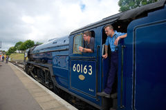 Swanage station järnväg Dorset UK Royaltyfri Foto