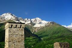Swanetia mountain region in Georgia Stock Images