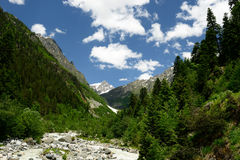 Swanetia region in Georgia Stock Images