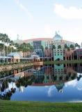 Swanhotell på Walt Disney värld (2) Royaltyfri Fotografi