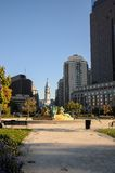 Swann fountain in Philadelphia Stock Photo