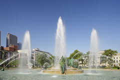 The Swann Memorial Fountain Stock Image