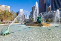 Swann Memorial Fountain, Philadelphia Royalty Free Stock Photos