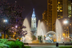 Swann Memorial Fountain  Philadelphia Stock Images