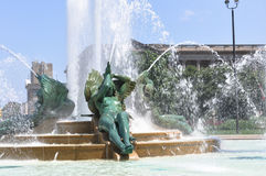 Swann Memorial Fountain, Philadelphia Royalty Free Stock Photo
