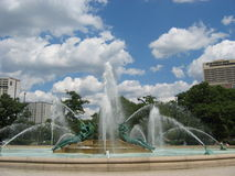 Swann Memorial Fountain Royalty Free Stock Image