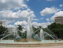Swann Memorial Fountain. The Swann Memorial water fountain in Philadelphia, PA Royalty Free Stock Image