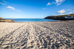 Swanpool Falmouth Cornwall. Sunny day on Swanpool Beach Falmouth Cornwall England UK Stock Image