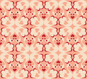 Swans. Seamless pattern. Symbol of love and marriage Stock Photos