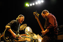 Swans band performs at Barcelona Stock Photography
