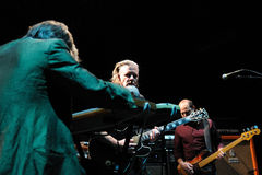 Swans band performs at Barcelona Royalty Free Stock Images
