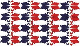 Swans pattern Stock Image