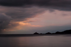 Swansea bay sunset Royalty Free Stock Photos