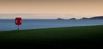 Swansea bełkoty i zatoka Zdjęcia Royalty Free