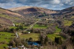 Swansea dolina Zdjęcia Royalty Free