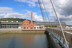 Swansea Harbour, Wales Stock Photos
