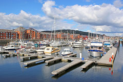 Swansea Harbour Stock Image