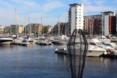 Swansea Marina, Wales, UK Royalty Free Stock Images
