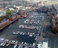 Swansea- Maritime Quarter Royalty Free Stock Images