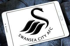 Swansea miasta piłki nożnej klubu logo Obraz Royalty Free