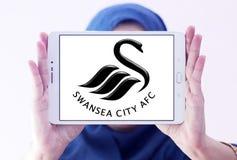 Swansea miasta piłki nożnej klubu logo Obraz Stock