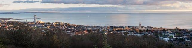 Swansea miasta południowe walie Obrazy Stock