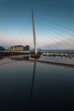 Swansea Millennium bridge Stock Images