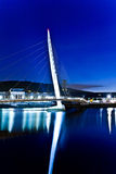 Swansea's sail bridge Royalty Free Stock Photos