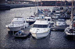 Swansea Ships Royalty Free Stock Images