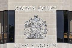 Swansea-Strafgerichtshof Lizenzfreie Stockbilder