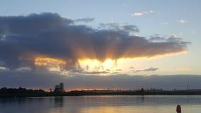Swansea sunrise royalty free stock photography
