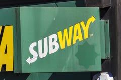 Subway logo Stock Photo