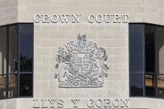 Swansea Crown Court Royalty Free Stock Images
