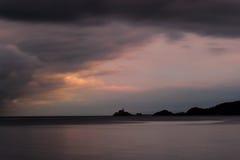 Swansea zatoki zmierzch Zdjęcia Royalty Free