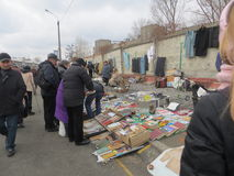 Swap meet in Kiev Stock Images
