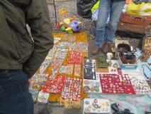Swap meet in Kiev Royalty Free Stock Images