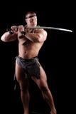 Sword barbarian Royalty Free Stock Photo