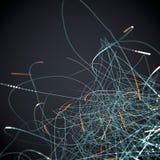 Swarm Background Stock Image