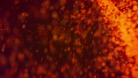 Heaticles // 1080p Abstract Particles Stream Video Background Loop