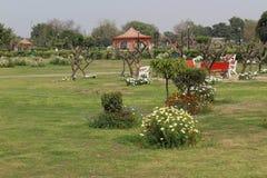 Swarn Jayanti Udyan, Rohini, Nuova Delhi, India fotografia stock