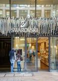 Swarovski存储 免版税库存照片